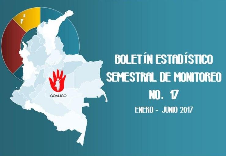 Boletín de monitoreo N° 17 Niñez y conflicto armado en Colombia.