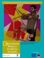 Boletín de monitoreo N° 8 y 7: Niñez y conflicto armado en Colombia.