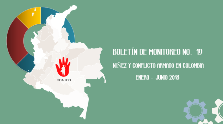 Boletín de monitoreo N°. 19: Niñez y conflicto armado en Colombia.