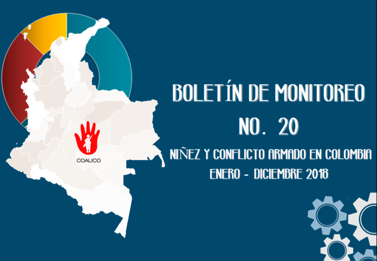Boletín de monitoreo N° 20: Niñez y conflicto armado en Colombia.