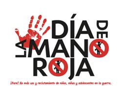 SJR lanzó campaña sobre el Día de la Mano Roja.