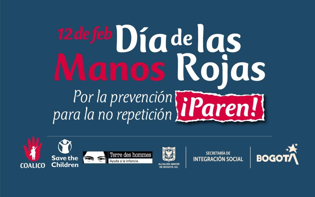Nota de prensa – 12 de febrero: Día de las Manos Rojas
