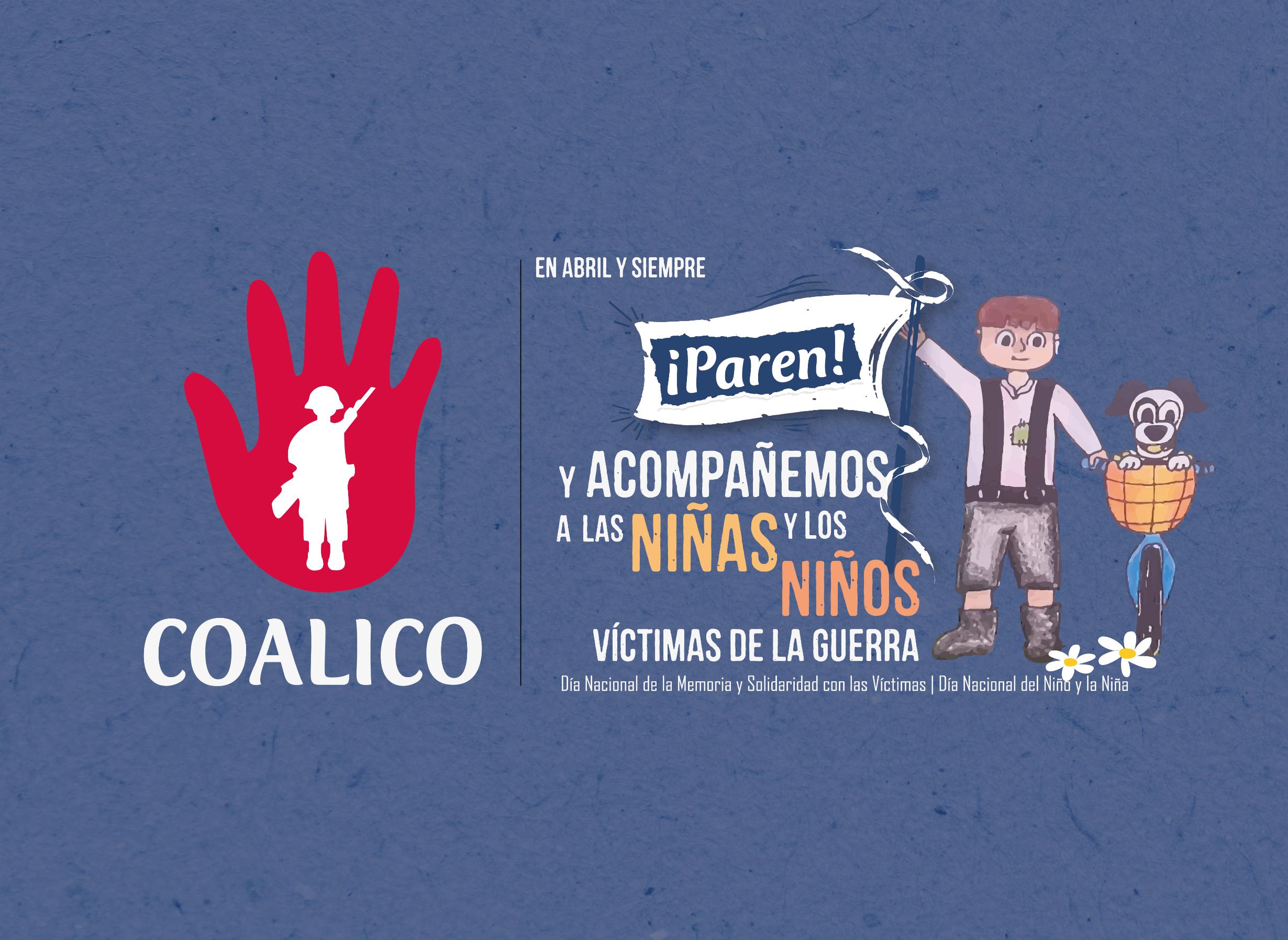 COMUNICADO PÚBLICO: LAS NIÑAS, NIÑOS Y ADOLESCENTES HAN SIDO Y SON VÍCTIMAS DEL CONFLICTO ARMADO EN COLOMBIA