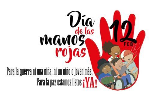 DIA DE LAS MANOS ROJAS 2016